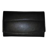 Dames knip portemonnee zwart