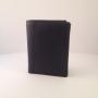 Heren portemonnee bilfold zwart (hoog model)