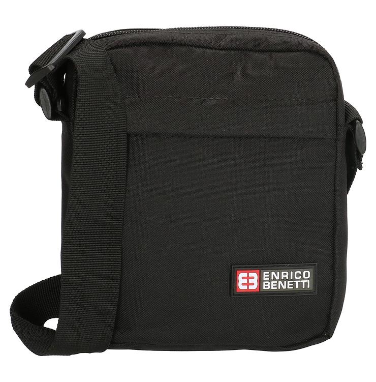 dc7c503a2f9 Enrico Benetti schoudertasje zwart - Lute Lederwaren