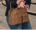 Enrico Benetti westernbag klein camel01