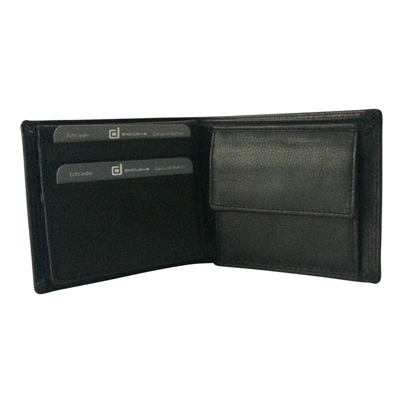 Luxe Portemonnee Heren.Heren Portemonnee Bilfold Luxe Laag Model Lute Lederwaren