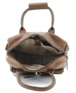 Echt Leren MicMac westernbag A5 cognac01