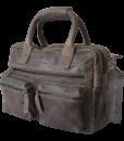 Echt Leren Micmac westernbag grey A601
