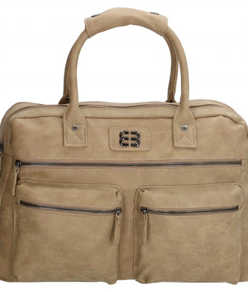 Enrico Benetti dames westernbag taupe 01