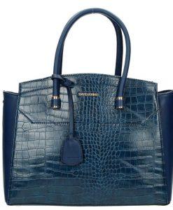 Trendy handtas David Jones dark blue