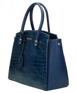 Trendy handtas David Jones dark blue01