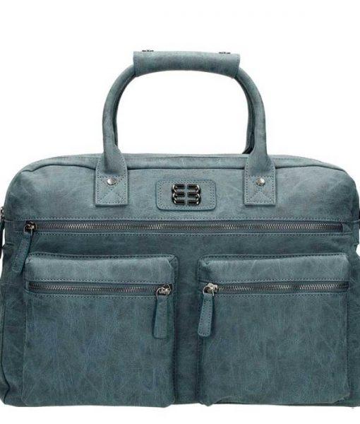 Enrico Benetti dames westernbag jeansblauw01