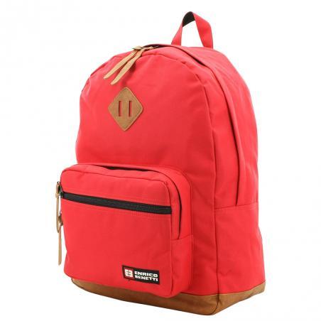 924f30a587c Enrico Benetti laptop rugzak rood - Lute Lederwaren