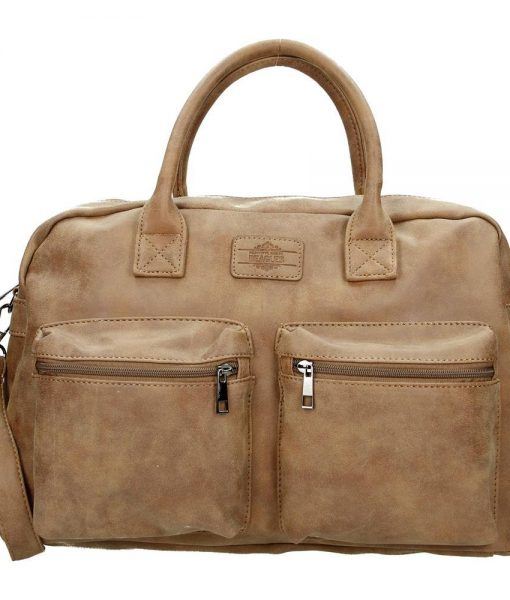 Beagles Western bag bruin 02