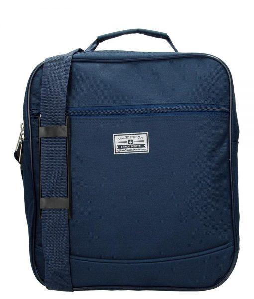 Reporters Handbagage tas Nylon blauw