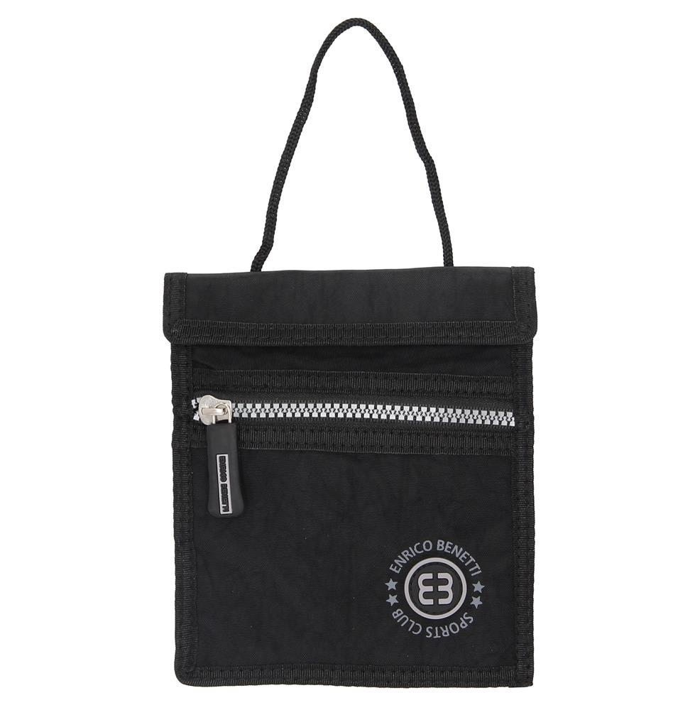 1fafbdd97c4 Enrico Benetti tasje voor onder je kleding zwart - Lute Lederwaren