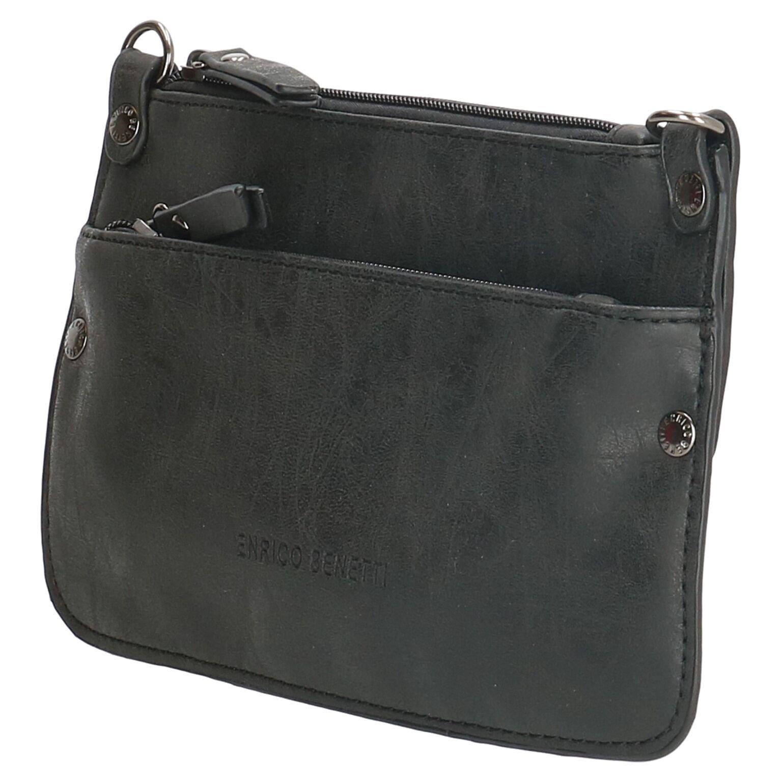 88f66f9f2ae Enrico Benetti clutch tasje zwart - Lute Lederwaren