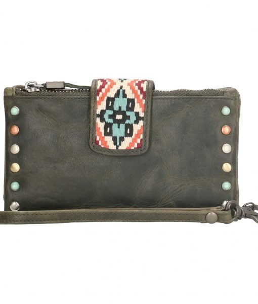 Dames portemonnee MicMacbags olive