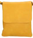 Beagles Schoudertasje met klepje Oker Geel 01