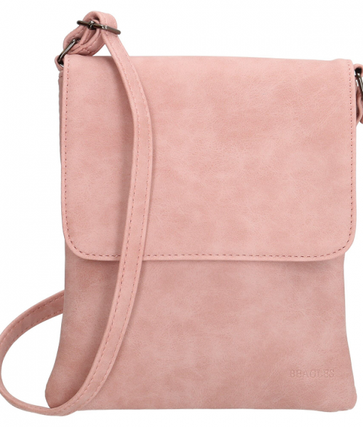 Beagles Schoudertasje met klepje Pink