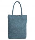 Beagles Shopper met Etui Jeans blauw 01