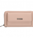 Dames Clutch Portemonnee Charm Pink 01