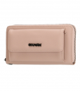 Dames Clutch Portemonnee Charm Pink 02