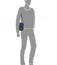 Enrico Benetti schoudertasje donkerblauw 07