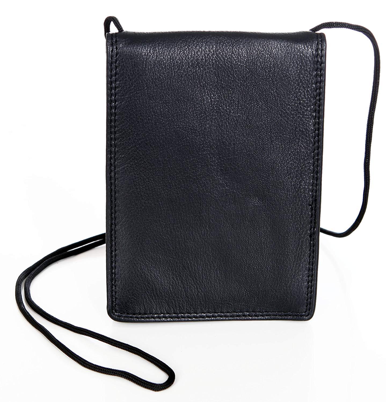 aaf2455a916 Leren Nektas – Paspoort tasje – Reistasje – Bodysafe – Onder je Kleding 03