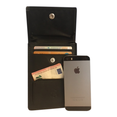 Leren Nektas – Paspoort tasje – Reistasje – Bodysafe – Onder je Kleding