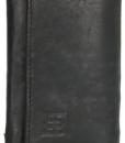 Zwart Leer sleutelmapje sleuteletui 01