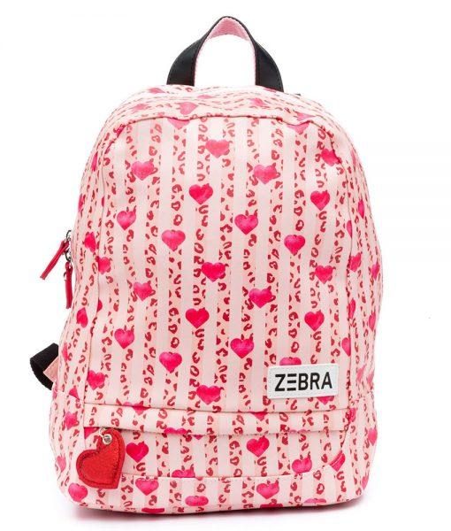 Zebra Trends Girls Rugzak XL Leo & Hearts