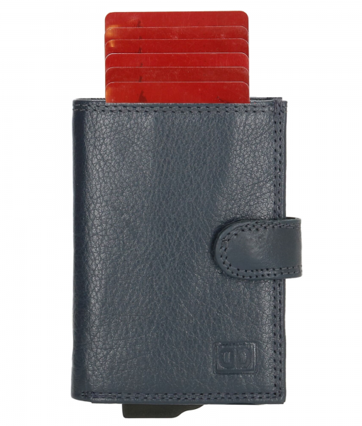 Double D Jaipur Creditcardhouder Donkerblauw 01
