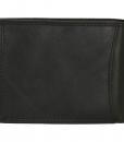 Heren portemonnee zwart Bilfold(laag model) RFID 01