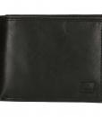 Heren portemonnee zwart Bilfold(laag model) RFID 02